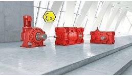 Explosionsgeschützte Industriegetriebe