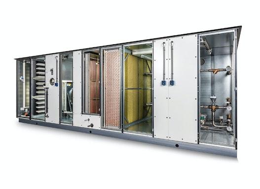 Lüftungs- und Klimazentralgeräte Baureihe HygCond