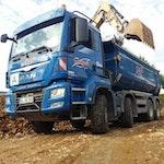 Aushubtransporte