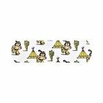 aluderm®-aluplast - Kinderpflaster - Bunte Clowns und Indianer Strip 1,9 x 7,2 cm - 12 Stück