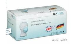 Community Masken / Behelfs-Mund-Nasen-Maske, 3 lagig