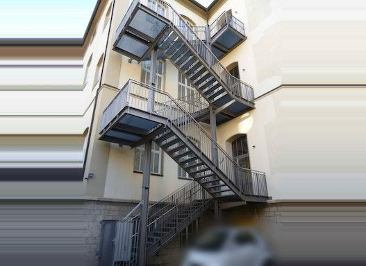 Treppenturm - Fluchtweg