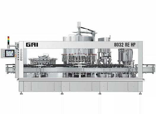GAI ELECTRO-PNEUMATIC Flaschenabfüllmaschine