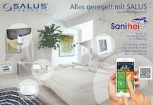 """SALUS Funk-Regelsystem """"IT 600""""  -  Fußbodenheizung und / oder Heizkörper kabellos regeln"""