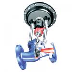 Stellventile mit elektrischem Schubantrieb oder pneumatischem Antrieb