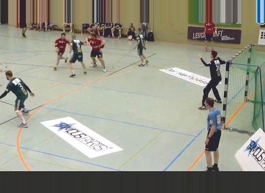 Sportbodenwerbung, 1 x 2 Meter