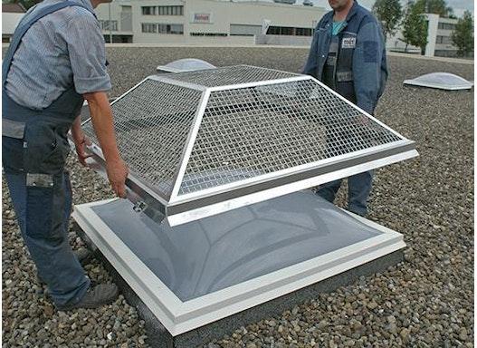 TIXIT Hagelschutz-Gitter für Lichtkuppel und Lichtbänder