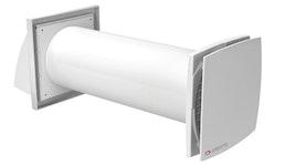 Lüftungsanlage SOLO RA1-35-9 R - Dezentrale Wohnraumlüftung mit Wärmerückgewinnung, IP24