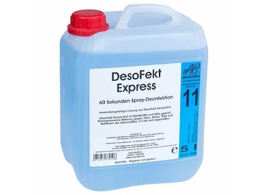 Assindia DesoFekt Express Spray-Desinfektion, 5 l Kanister