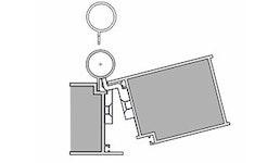 BO  Athmer Fingerschutzprofile - Bandseite -  Querschnitt