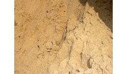 Sand, Kies, Mutterboden und Schotter