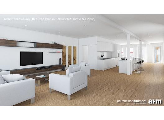 3D-Innenarchitektur-Visualisierungen - schöne Innenbilder für Ihre Werbung!