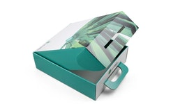Krempelverpackung mit Verchluss aus Karton & Wellpappe als Stülpschachtel - direkt vom Hersteller, ab 1 Stück