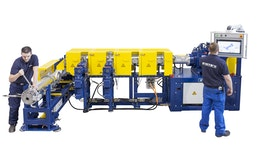 Extruder TP-WE 100/2100 M4 ESE 120 für die Gummiaufbereitung
