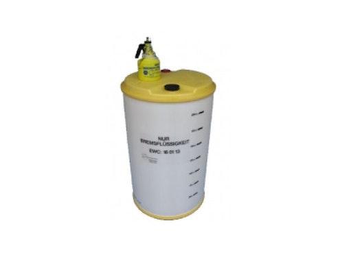 Sammelsystem für gebrauchte Bremsflüssigkeit - 60 Ltr.