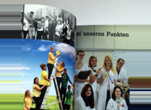 Premium Abizeitung DIN-A4 40 - 320 Seiten vollfarbig