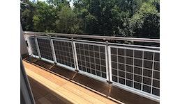 BRÜSTUNGSSYSTEME - asola VITRUM® Balcony Edelstahl+Glas