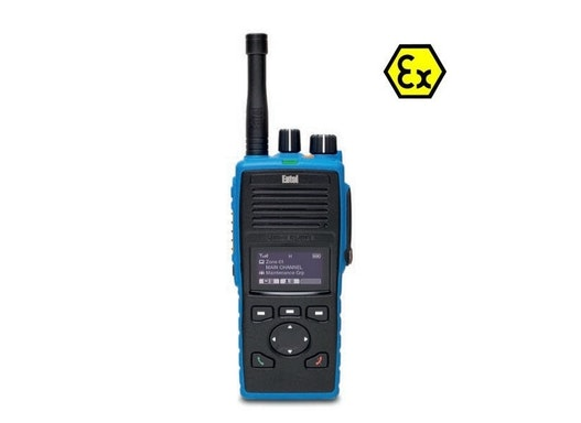 Explosionsgeschützes Entel DT925 VHF ATEX Funkgerät