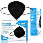FFP2 Schutzmachen von Hygisun in schwarz. Schutz vor COVID-19