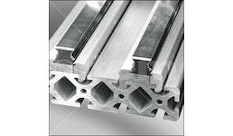 Kugelumlaufführung-Schienenspannprofil PS 4-25, natur