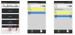 COSYS Android MDE Software für die Inventur