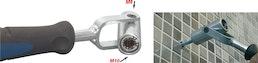 Montagewerkzeug: Stockschraubendreher zum Ein- und Ausschrauben von Stockschrauben