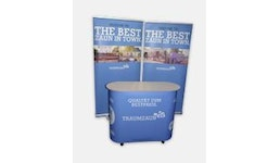 Roll Up Messestand 2 Variante: Roll Up 60x200 cm (BxH)
