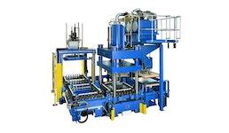 Composite Presssystem   -  Thermoformanlage  KV 296, Pressen für Kunststoffe