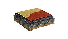 Im Spielplatzbau wird Fallschutz hauptsächlich durch einen Fallschutzboden gewährleistet, der aus verschiedenen Materia