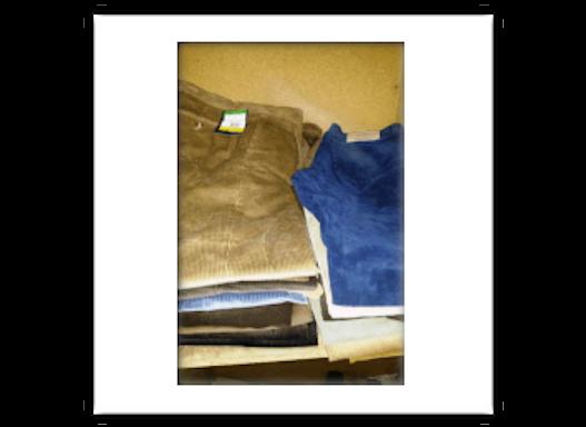 Gebrauchte Hosen