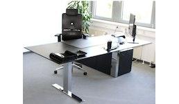 Edles Chefbüro mit Profibüromöbeln 3-Teilig zum Hammerpreis!
