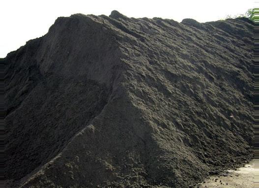 Mutterboden/Oberboden gesiebt