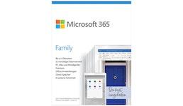 Office 365 Family - 1 Jahr / 6 User