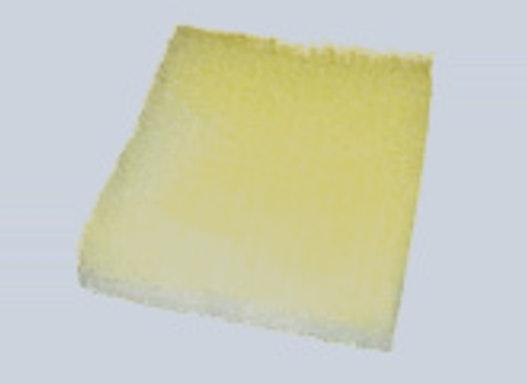 Glasfaser-Luftfiltermatte gelb