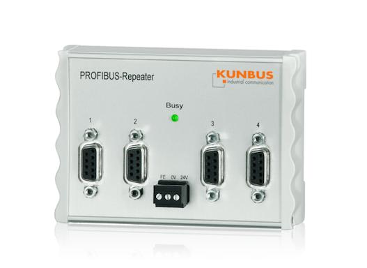 PROFIBUS Repeater – 4-fach PROFIBUS RS-485 Repeater