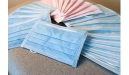 3 lagig Mund-Nasenschutz Einweg-Mundschutzmasken Gesichtsmaske Mundschutz Atemschutzmasken