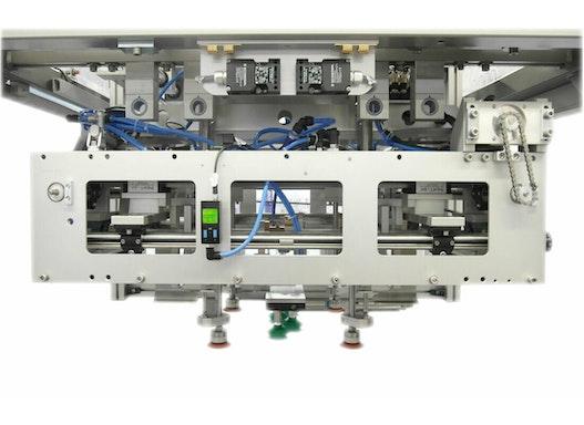 Deckelaufsetzer olicap von oli für Displayverpackungen