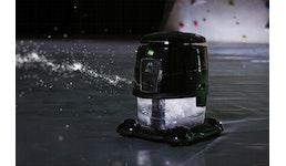 Luftreiniger mit Wasserfilter und Möglichkeit der Luftdesinfektion (Luft- und Raumreinigungssystem)