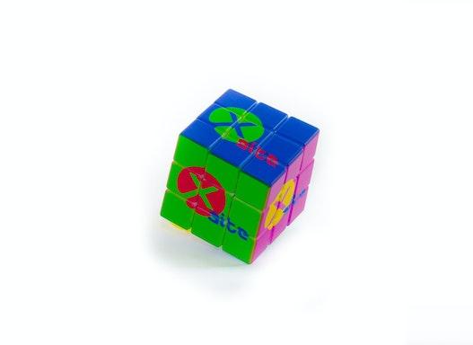 Zauberwürfel - rundum bedruckt mit Ihrem Logo, individuelles Design möglich