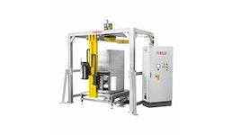 ATLANTA - vollautomatischer Palettenwickler / Folienwickler mit Dreharm Revolution HD