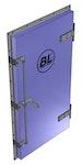 BL/HHS: Hochwasserschutz-Tür
