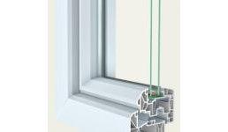 Kunststoff-Fenster 88+ Aludeck elegance