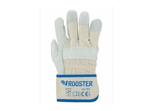 Rindvollleder Handschuh Rooster