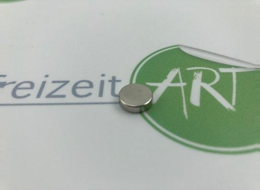 Neodym Magnete für magnetische Whiteboardfolie   10mm Durchmesser
