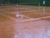 Grundüberholung | Sanierung eines Tennisplatzes