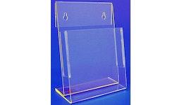 Prospektständer aus Acrylglas, Acryline, Prospektständer A5 aus Acrylglas