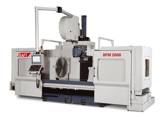 Bettfräsmaschine - Universal KRAFT BFM 1500 №1124-91035