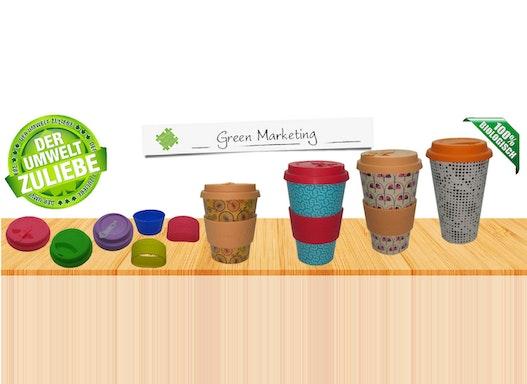 Kaffee  to go Bambus selbst gestalten und produzieren lassen