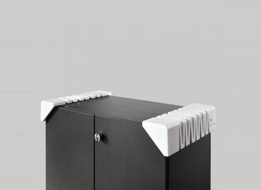 Variabel ausziehbare Möbel-Kantenschutzecke (ca. 400–600 mm)