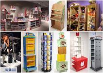 weitere PoS-Displays, Ladensysteme, Messebau & Werbetechnik